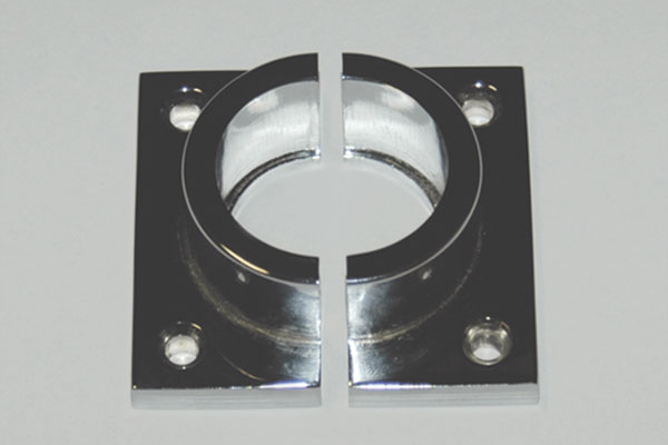 dimensions of square mounting bracket for fibre optic light tube