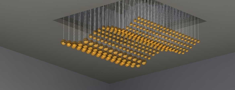 Custom Fibre Optic Chandelier Design And Manufacture Image 2