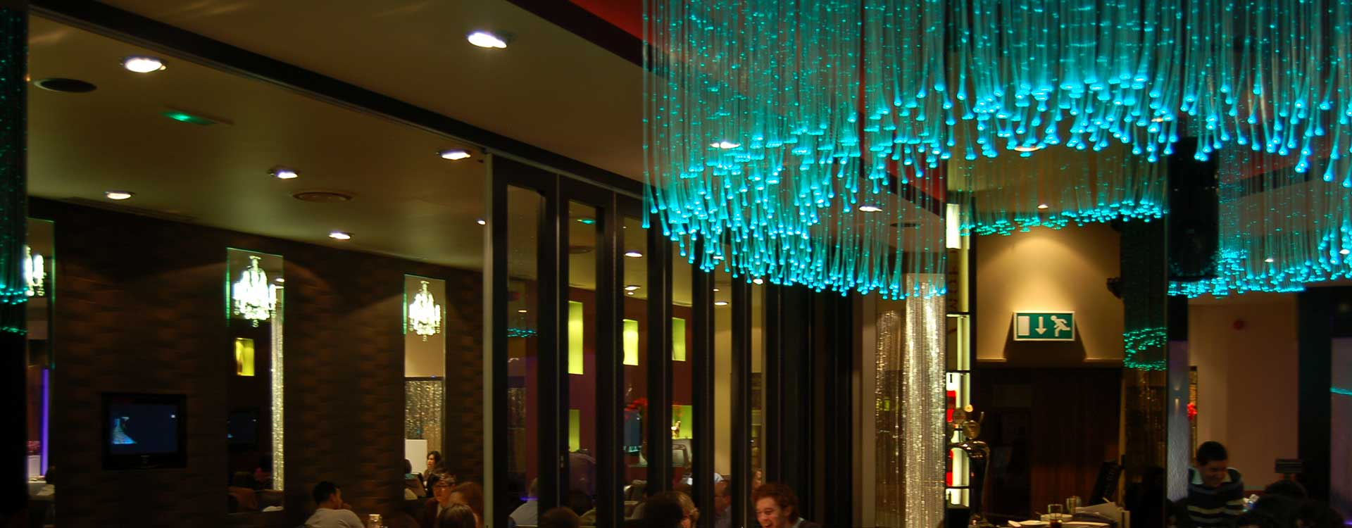 Ufo Lighting The Curry Lounge Chandeliers