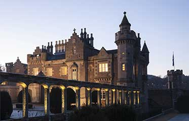 led lighting at abbotsford house