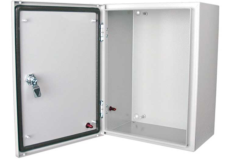 weather resistant enclosure for light source