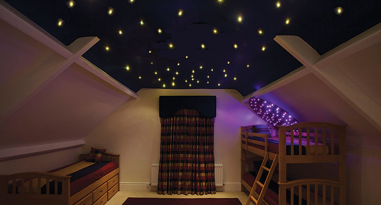 Ufo lighting fibre optic star effect ceilings fibre optic star effect ceiling image 1 mozeypictures Image collections