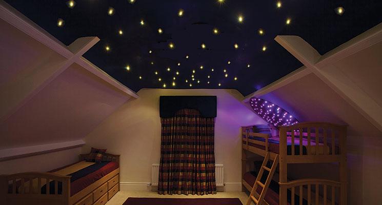 Ufo lighting fibre optic star effect ceilings fibre optic star effect ceiling image 1 aloadofball Choice Image